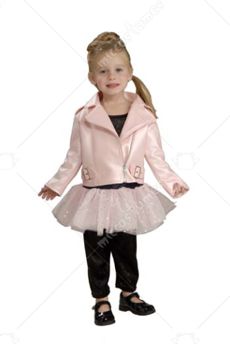Harley Davidson Pink Jacket Toddler Costume