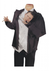 Headless Ghost Head Holder Adult Costume