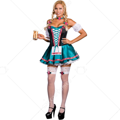 Heidi Hottie Adult Plus Costume