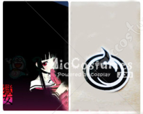 Hell Girl Cosplay Tattoo Sticker