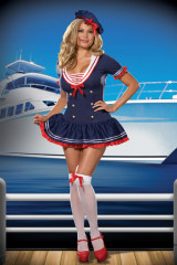 Hello Sailor Adult Plus Costume