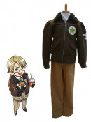 Hetalia Axis Powers America Kids Cosplay Costume