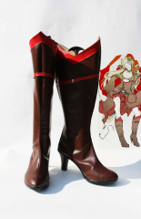 Hetalia Axis Power Denmark Cosplay Boots