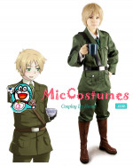Hetalia Axis Powers England Cosplay Kostüme