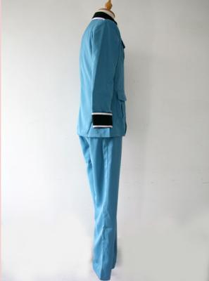 Hetalia Axis Powers Germany Blue Cosplay Costume