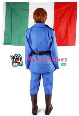 Hetalia Axis Powers Italy Cosplay Costume