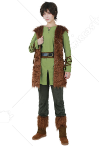 Male Viking Cosplay Costume inspired by How to Train Your Dragon Hiccup