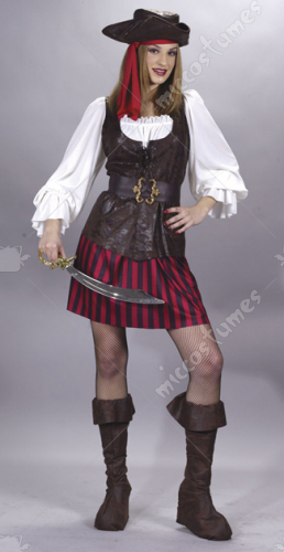 High Seas Lady Buccaneer  Costume