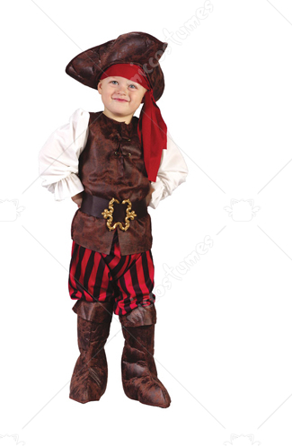 High Seas Pirate Toddler Boy Costume