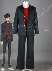 Highschool Of The Dead Fujimi Shobo High School Men Uniform Cosp