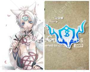 Hiiro no Kakera O-chan Cosplay Tattoo Sticker