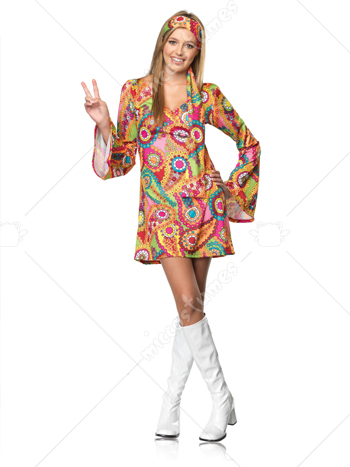 Hippie Teen Costume