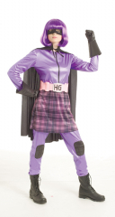 Kick-Ass Movie - Hit Girl Female Costume