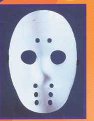 Hockey mask white