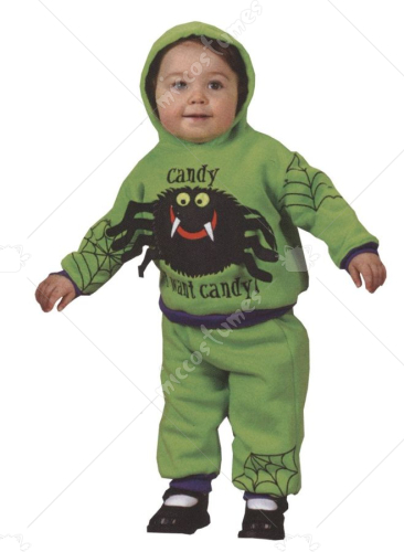 Hooded Spider Two Pieces Costume