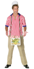 Hot Dog Vendor Adult Costume