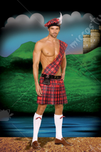 Hot Scottie Adult Costume