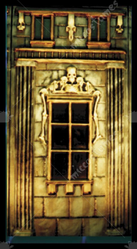House Of Dead Window Panel