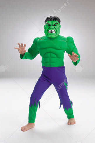 Hulk Child Deluxe Muscle Costume