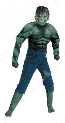 Hulk Child Muscle Costume