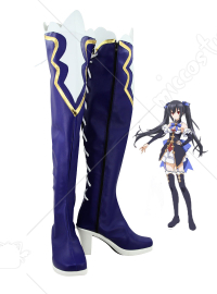 Hyperdimension Neptunia Noire Cosplay Shoes