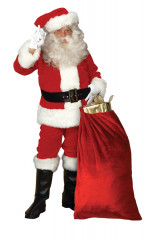 Imperial Santa Suit Adult Costume