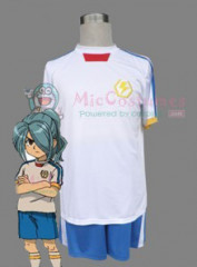Inazuma Eleven Japanese National Soccer Team Summer White Unifom