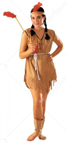 Indian Lady Costume