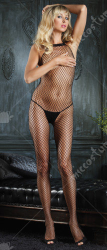 Industral Net Halter Bodystocking