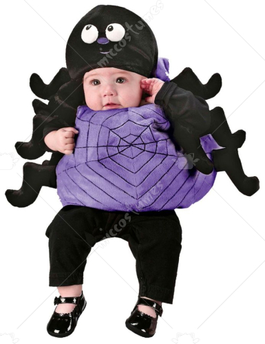 Infant Spider Vest With Hat Costume