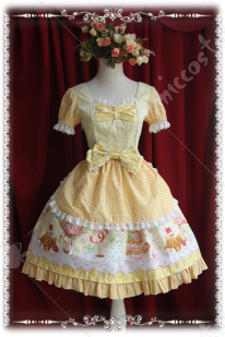Infanta Cream Workshop Sweety Lolita Dress
