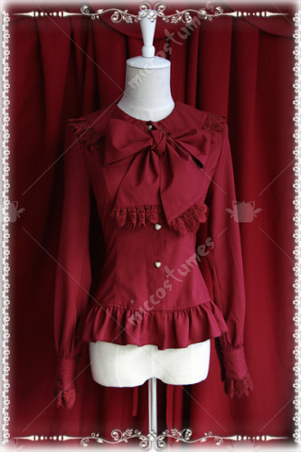 Infanta Chiffon Double Ties Blouse