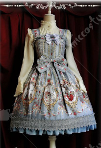 Infanta Cinderella Lolita Dress Three Colors