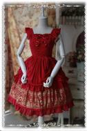 Infanta Rose Palace Gold Stamping Lolita Dress