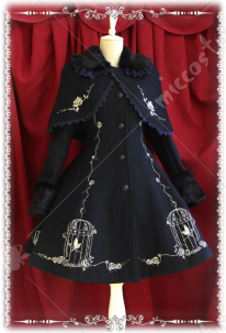 Infanta King and Nightingale Lolita Overcoat