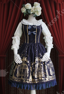 Infanta Angel Courtyard Lolita Dress Two Colors