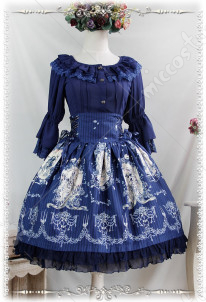 Infanta Tangled Lolita Skirt Three Colors