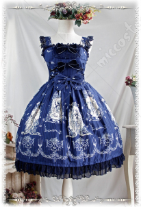 Infanta Tangled Lolita Dress Three Colors