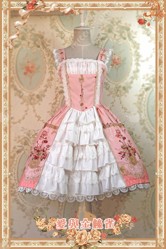 Infanta Love&Canary Cotton Lolita Dress Two Colors