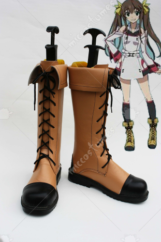 Infinite Stratos Fan Rinin Cosplay Boots