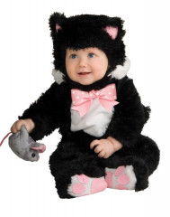 Noah's Ark Black Kitty Infant Costume
