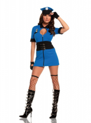 Intriguing Interrogator Adult Costume