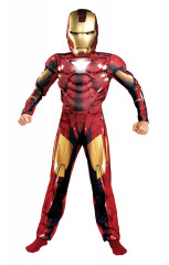 Iron Man Child M6 Muscle Costume