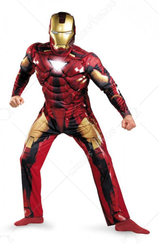 Iron Man Classic Muscle Mark 6 Adult Costume