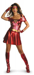 Iron Man 2 - Ironette Sexy Adult Costume