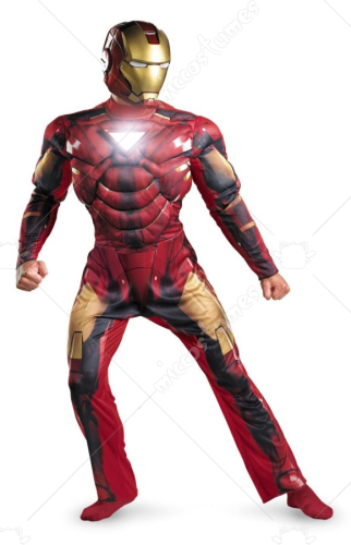 Iron Man Light Up Mark 6 Adult Costume