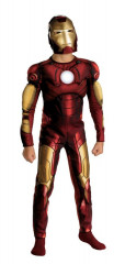 Iron Man 2008 Movie Muscle Chest Child Costume