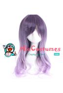 Japanese Harajuku Gradient Color Wig Purple