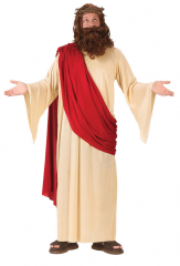 Jesus With Wig And Beard Adult Costume