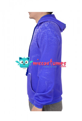 Rise of the Guardians Jack Frost Hoodie Cosplay Costume Outfit